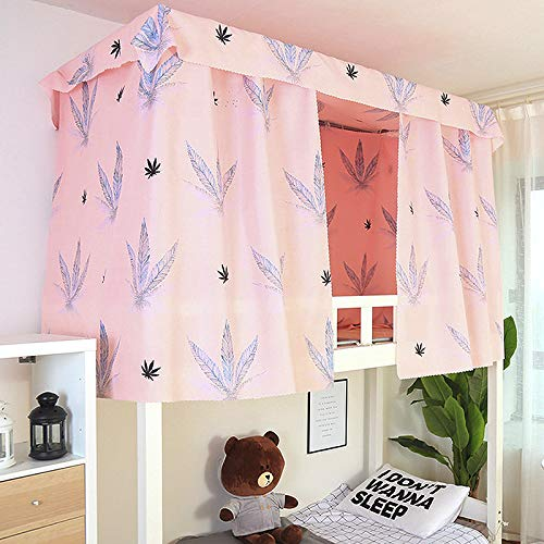 Heidi Hyacinth Bed Canopy Single Sleeper Bunk Bed Curtain Student Dormitory Blackout Cloth Mosquito Nets Bedding Tent