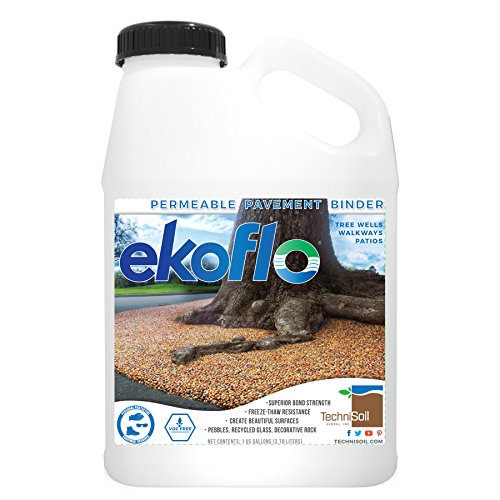 TechniSoil EkoFlo Permeable Pebble Binder (1-Gallon Bottle)