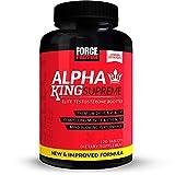 Force Factor Alpha King Supreme New & Improved 120ct, 120 Count