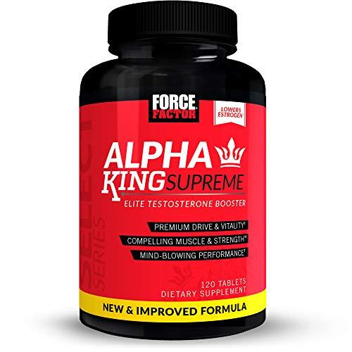 Force Factor Alpha King Supreme New Improved,120 Count