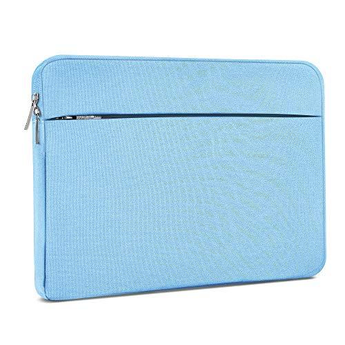 AtailorBird Funda Ordenador Portatil 14 Pulgadas,Bolsa pc Portátil Impermeable Anti-rasguños Antigolpes,Funda 14 Acolchada per Laptop/Notebook/MacBook/Chromebook -Azul Claro