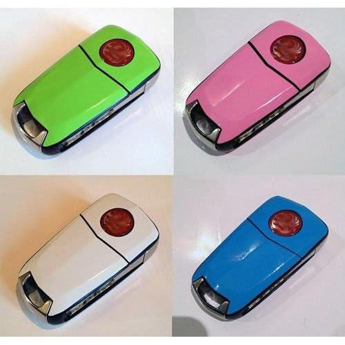 Koolart Cartoon Sports Car Astra H VXR Quality Leather and Chrome Keyring Choose a Colour Black