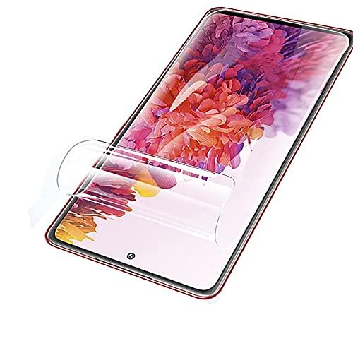 SOMEFUN【2枚】高感度タッチスクリーンプロテクター Samsung Galaxy S21(5G) SC-51B / SCG09 (6.2インチ)用 ソフト TPU ハイドロゲル保護フィルム [強化ガラスではない、透明]
