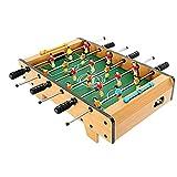 Qazxsw Table Football pour Enfants Machine/Bureau Table de Jeu/Boy Toy Football/Double Table de Jeu/sécurité Protection de l'environnement Matériel,Wood Color,68 * 39.5 * 21cm