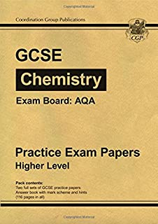 GCSE Chemistry AQA Practice Papers - Higher (A*-G course)