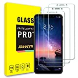 [3 Pack] Compatible with Xiaomi Pocophone F1 Screen Protector, 9H Hardness, High Definition, Bubble Free, Scratch Protection, Case Friendly, Tempered Glass Screen Protector for Xiaomi Pocophone F1
