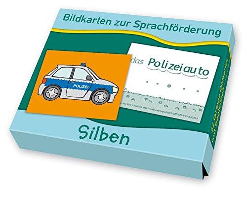 Bildkarten zur Sprachförderung: Silben