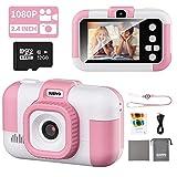 SUZIYO Kids Camera, Children Digital Selfie Video Camcorder 1080P Dual Lens 2.4 Inch HD, Birthday...