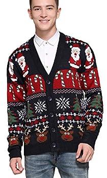 christmas cardigan for men