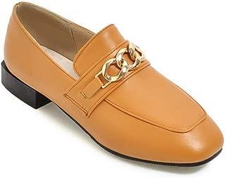 BalaMasa Womens APL12344 Pu Block Heels