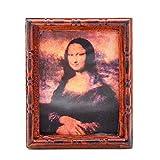 Odoria 1/6 Miniatur Gemälde Monalisa Für Puppenhaus Dekoration Zubehör