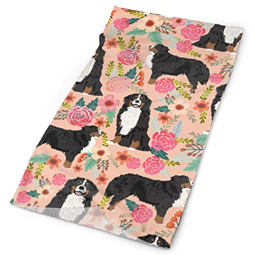 NA Berner Berg Hond Bloemetjes Hond Bloemetjes Hond Ras Hond Leuke Bloemen Bloemenhonden Beste DogFacial Hoofdband Make Up Wrap Hoofd Terry Doek Hoofdband Stretch Handdoek make-up Haarband Sport