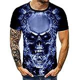 Camiseta de Manga Corta Skull Pile para Hombre y niño S