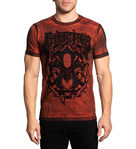 Affliction Men's Iconic Steel Short Sleeve Tee