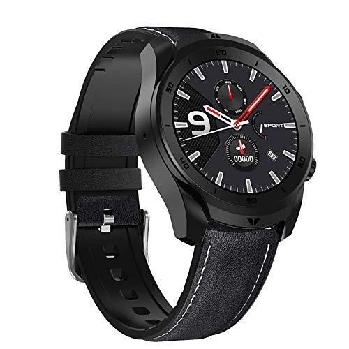 JIAJBG Reloj Elegante Reloj Digital, Rastreador de Ejercicios con Monitor de Ritmo Cardíaco, Ip67 a Prueba de Agua Smartwatch Control de Actividad Podómetro Del Sueño Monitor de Men