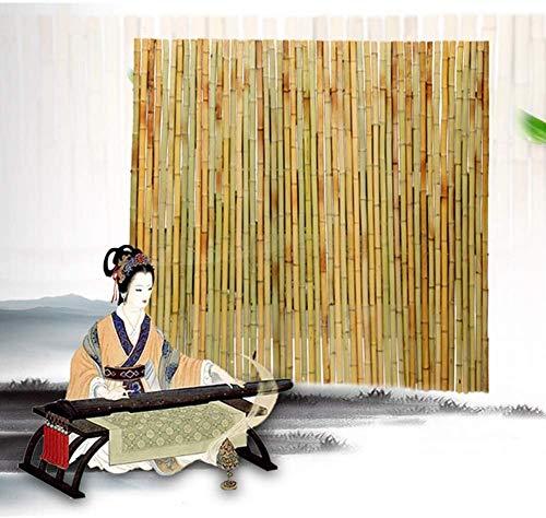 KANULAN Cercas Decorativas Valla de jardín Planta Trepadora Vid Conexión de Alambre antiséptico Patio Decoración de partición Valla de bambúCerca de Jardín