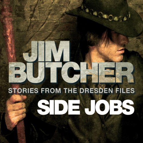 Side Jobs: Stories from the Dresden Files audiobook cover art