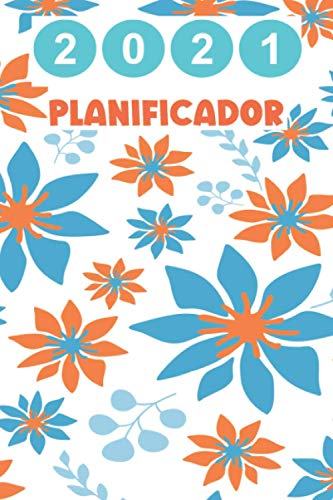 2021 Planificador: Agenda 2021 dia por pagina   Planificador anual   Calendario 2021   agenda diaria 2021, de enero a diciembre 2021