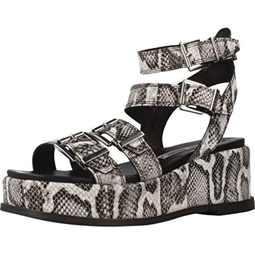 Bronx Shoes Damen Sandalen Sandaletten 84765J Mehrfarbig 41 EU