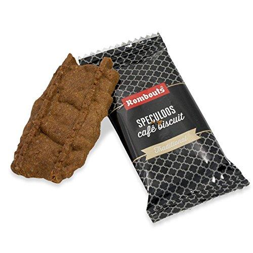Rombouts speculoos galletas de café con canela 300 galletas envueltas individualmente