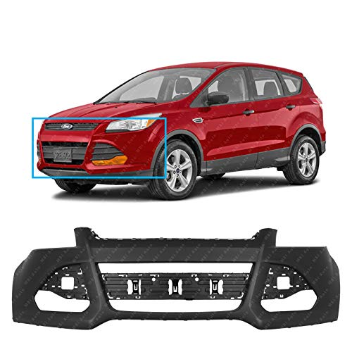 by AutoModed Bumper Grill AutoModed Lower Grille for Ford Escape Replaces OEM Parts CJ5Z17K945AA CJ5Z17E811AA CJ5Z17E810AA Fog Covers 3pcs Factory Style ABS 2013 2014 2015 2016