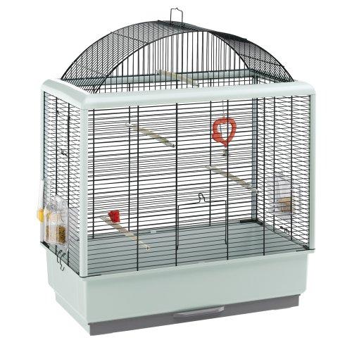 Ferplast Palladio 4 Bird Cage, 59 x 33 x 69 cm, Black