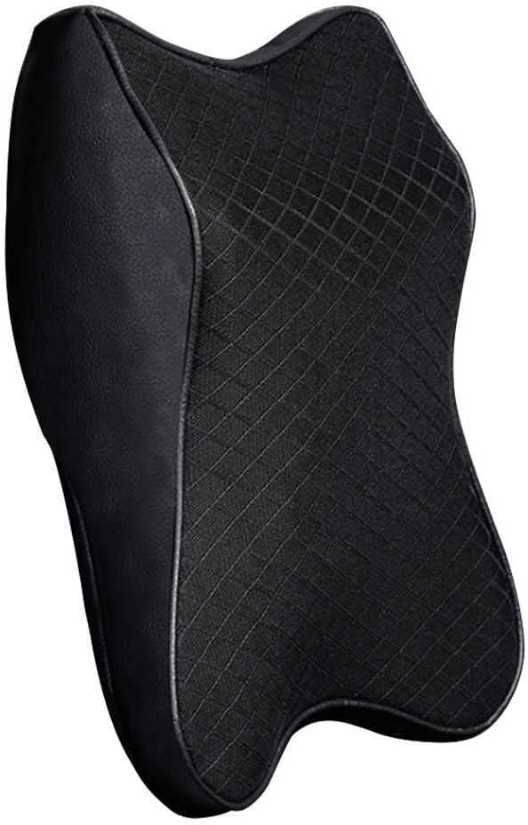 NIUASH Car Neck Pillow 3D Memory Foam New life Pi Head Headrest Rest Max 82% OFF Auto