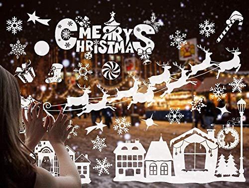 Adhesivos Navidad Escaparates Marca ZARRS