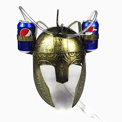 Sparta Drinking Helmet Beer Hat Cola Soda Cap...