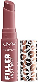 Sponsored Ad - NYX PROFESSIONAL MAKEUP Filler Instinct Plumping Lip Color, Lip Plumper Balm - Sugar Pie, Mauve Pink Purple