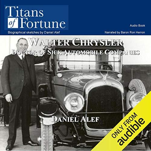Walter Percy Chrysler audiobook cover art