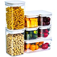 7-Piece Citylife Clear Food Storage Containers Set with Lids