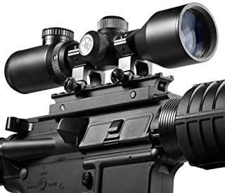 BARSKA New Rifle Scopes (3-9x42mm Rifle Scope Contour)