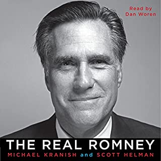 The Real Romney audiobook cover art