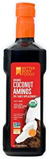 BetterBody Foods Organic Coconut Aminos Soy-Free Soy-Sauce Replacement, 16.9 Oz