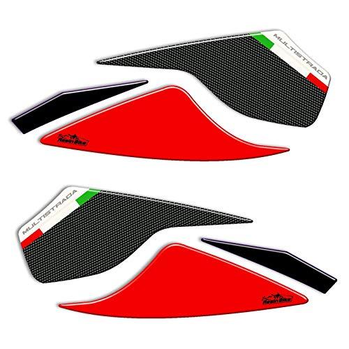 Adhesivos 3D Protección Espejos Compatible con Ducati Multistrada 950
