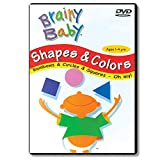Brainy Baby is university studied and published in JOCAM Journal of Children and Media showing children can learn 22X more; Brainy Baby Shapes and Colors teaches 12 shapes and 12 colors with slow paced visuals using everyday objects in familiar surro...