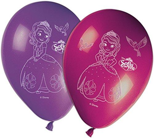 X8 Ballons Princesse Sofia