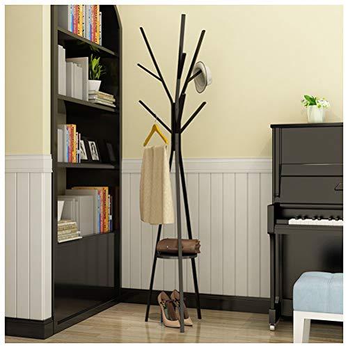 NIUZIMU Vloer eenvoudige boom hoed hanger smeedijzer metaal moderne kapstok huis creatieve hoed hanger mat dikke carbon stalen buis eenvoudig te monteren -2345