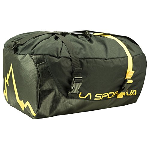 LA SPORTIVA Unisex-Erwachsene Laspo Rope Bag Stofftasche, Schwarz (Black), 24x15x45 centimeters