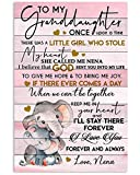 AZSTEEL Lovely Message from Nena for Granddaughters