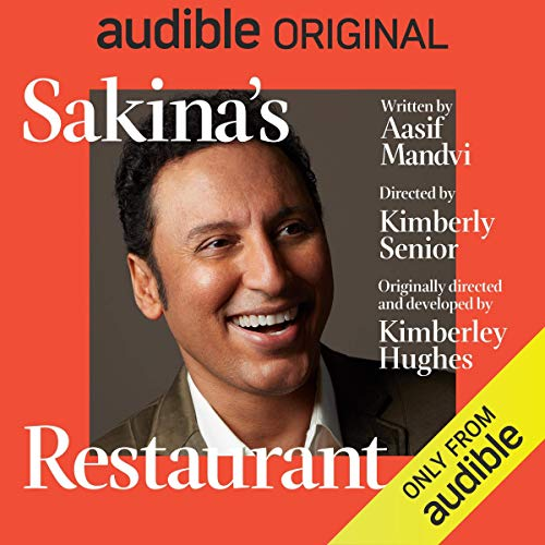 Sakina's Restaurant                   By:                                                                                                                                 Aasif Mandvi                               Narrated by:                                                                                                                                 Aasif Mandvi                      Length: 1 hr and 17 mins     4,490 ratings     Overall 3.2