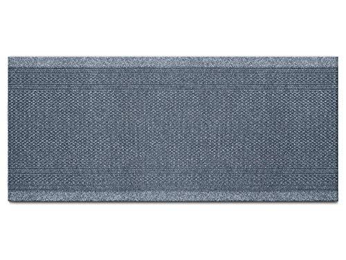 Schmutzfang-Läufer Meterware AZTEC – Hellgrau, 0,66m x 2,00m, Rutschfester, Robuster Sauberlauf-Teppich Schmutzfangteppich Eingangsmatte, Effektiver Küchen-Läufer