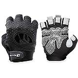 HILAEX Workout Gloves for Men &...