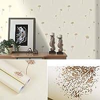 ウォールステッカー 壁紙 pvc自己接着壁紙壁紙、寝室の家具の暖かくロマンチックな背景の壁、-blue_1_0.45 * 10m