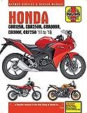 Honda CBR125/250/300R, CB300F & CRF250L/M (11 - 18) Haynes Repair Manual