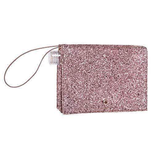 Creative Brands Slant Collections Flaschenhalter, 473 ml, Pink Glitter