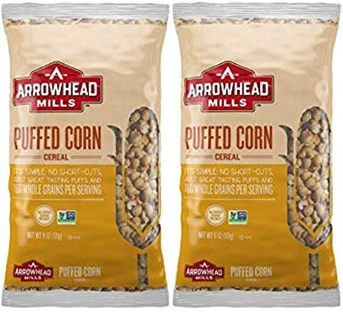 Arrowhead Free shipping Mills Puffed Corn Cereal 2 6 OZ New popularity of Pack