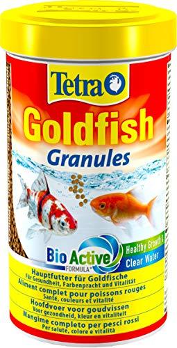 Tetra Goldfish Granules, Mangime in granuli galleggianti per Pesci Rossi e Altri Pesci d'Acqua Fredda - 500 ml