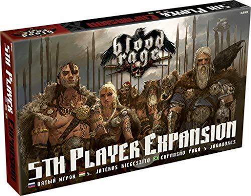 Blood Rage - Expansão para 5 Jogadores, Galápagos Jogos, Multicor